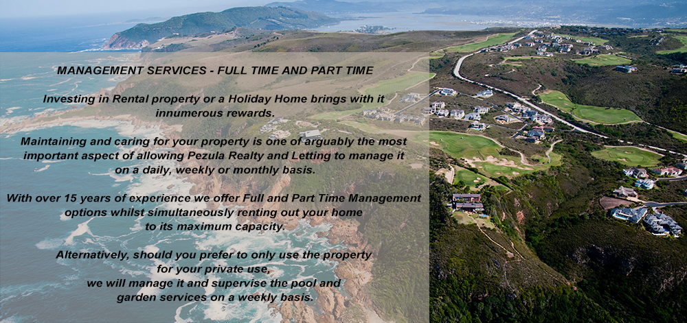 Management Options Pezula Realty and Letting Knysna
