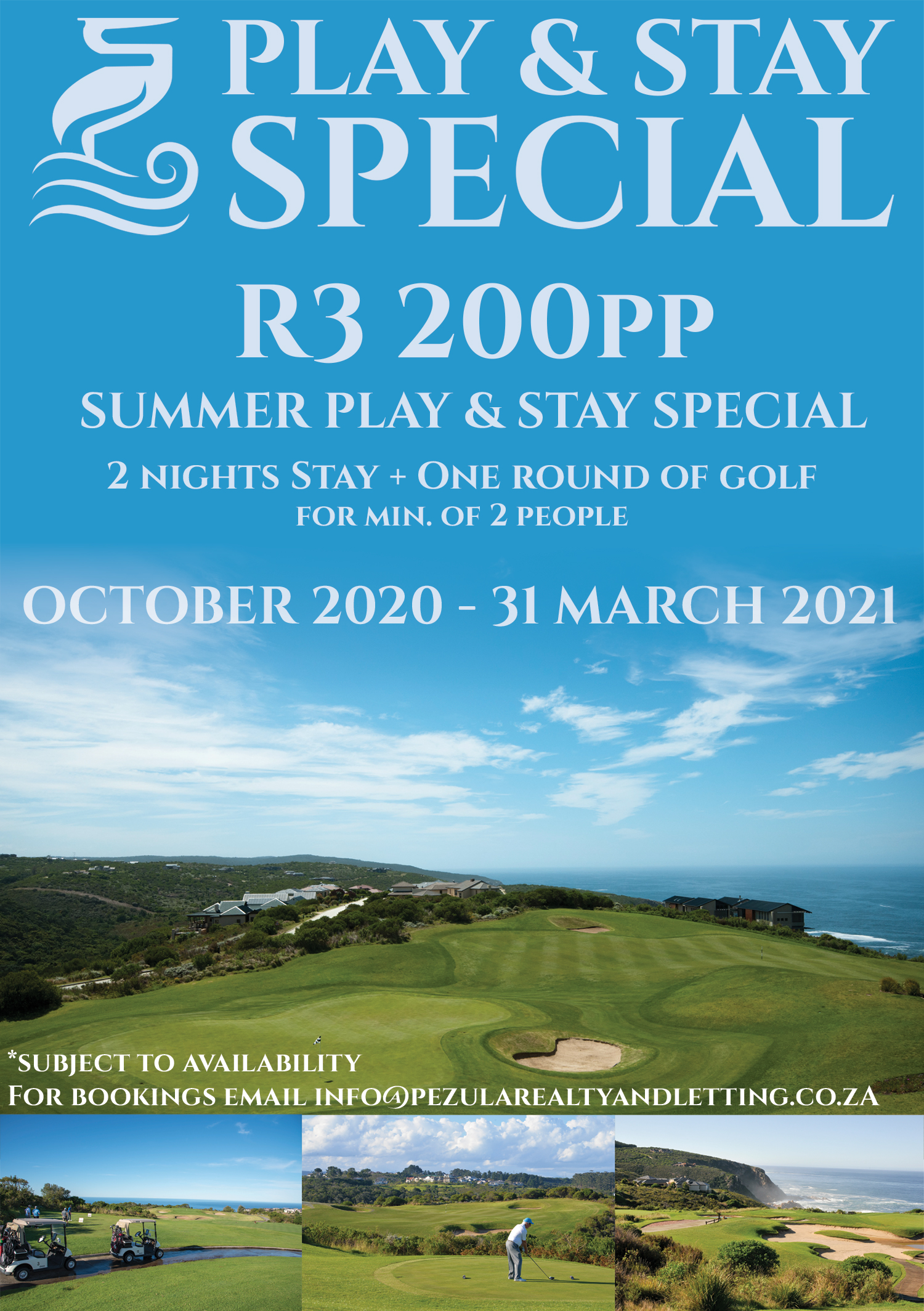 Pezula Realty and Letting Summer Special